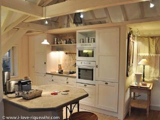 Spacious kitchen with top quality equipment and amenities