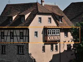 Location of the apt within the medieval house