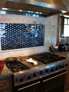 Viking Cooktop and Vent Hood