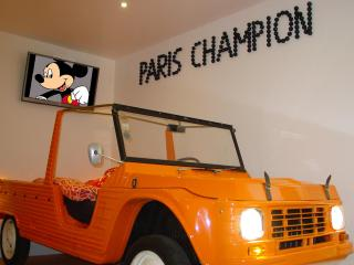 Funky Paris Apartment in Montmartre with Free Car Park