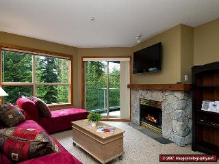Aspens #328, 1 Bdrm, Ski-in Ski-out, Serene Forest View, Free Wifi, Whistler