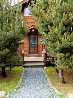 Cove Cottage door facing road