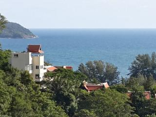 The Andaman Sea stretches out right in front of the Villa In The Sky