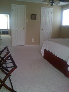 Master Bedroom showing large closet entrance