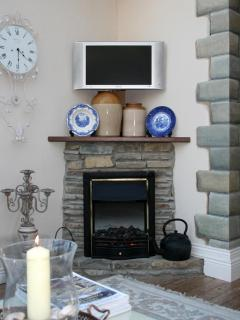 Fireplace in Garden Room/Conservatory