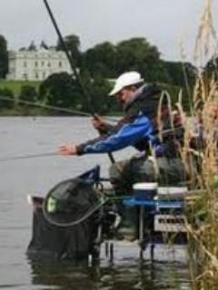 Fishing on Lough Muckno