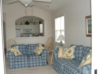 Living/Dining area from Sliding Door Porch area