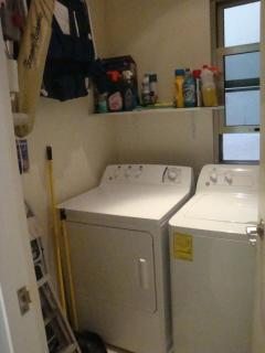 laundry room - washer, dryer