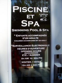 Pool/Spa complex just a 5 min walk up the street