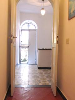 1st floor - the entrance from Vico Chiuso