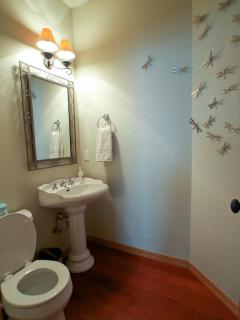 Off living room bathroom