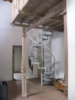 staircase to the lounge room