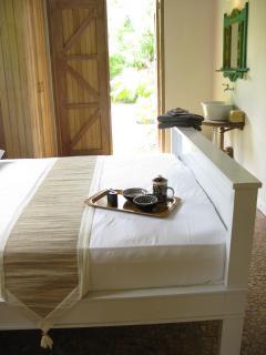 bedroom, 1,60 x 2,00 with adjacent bathroom