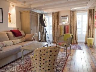 Luxury Artist Apt in Montorgueil. Photos-Paintings, Paris