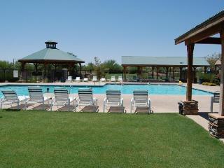 One of three pools & three hot tubs at Johnson Ranch!