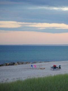 Private association beach