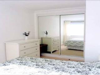 Kingsize bed, black out blinds, double mirrored wardrobe, drawers, hairdryer, iron, ironing board