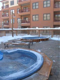 Copper Springs Lodge hot tubs