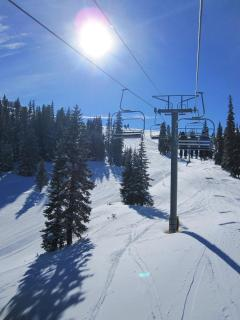 Skiing at Copper Mountain!