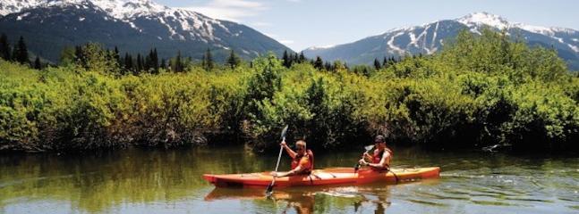 River kayaking, just 10 mins away.