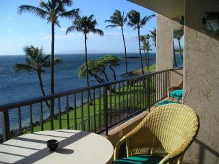 Lanai view seating for four