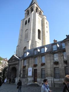 Saint Germain Des Pres church