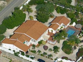 ariel view of villa - gardens have grown in from the time this picture was taken.