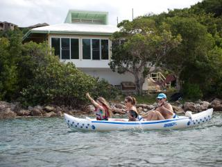 Best fun on St John! Free kayaks & snorkel Beach.