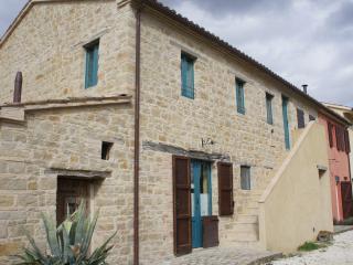 The farmhouse La Fattoria, newly restored