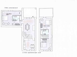 apartment and room map