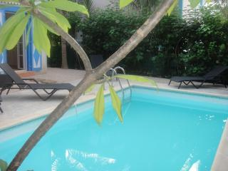 MACASSI 2... darling 3 BR  villa just 450 feet to fun filled Orient Beach, Orient Bay