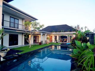 Villa Sanga just after sunrise