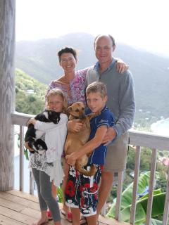 The Richards Family  - Adam, Tina, William and Alexandra