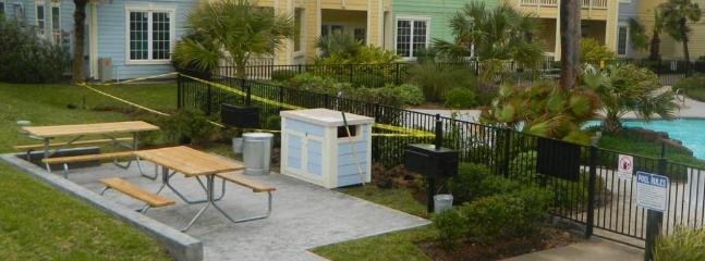 New Barbecue area by the pool