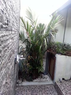 Outside shower junior bathroom