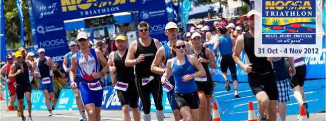 Be part of the Noosa Triathalon...