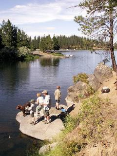 Fishing close by at Winchester lake
