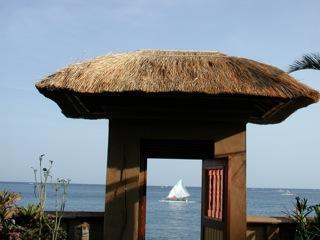 Gate to beach. Sunrise sails available!