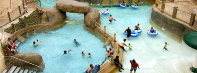 Nearby: Massanutten's Indoor WaterPark is open year-round and is always 84° fahrenheit!