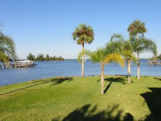 Old Palm Waterfront Vacation Rental Home