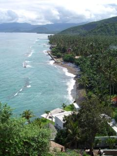 View of Candidasa, Bali