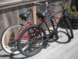 FREE 24/7 Private Use of Beach Cruiser Bicycles