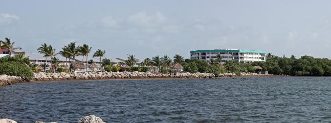 View from breakwater