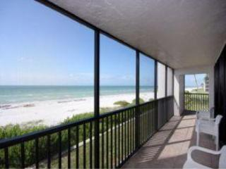 Luxury Condo on Beach Sleeps 6 Sanibel Island, FL