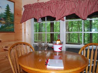 'Lovey Dovey'  cozy log cabin- unsurpased privacy., Asheville