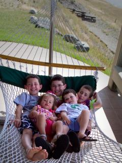 Kids in the Hammock