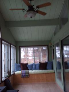 Sun porch aka yoga and meditation space
