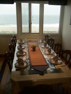 Dining Room - Quality flatware provided including seafood forks and iced tea spoons
