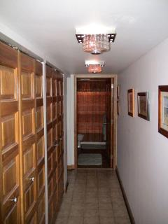 Second & Third bedrooms are right off a small alcove to left of hallway bath
