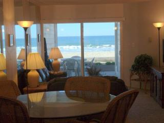Ocean View Dining Room, Living Room, Deck, Sand, Ocean